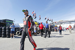 September 23, 2017 - Loudon, New Hampshire, United States of America - September 23, 2017 - Loudon, New Hampshire, USA: Kurt Busch (41) hangs out in the garage during practice for the ISM Connect 300 at New Hampshire Motor Speedway in Loudon, New Hampshire. (Credit Image: © Justin R. Noe Asp Inc/ASP via ZUMA Wire)