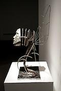 Clay Darrow<br /> Epheroptera; Fleeting Grace<br /> Bronze, steel, patina