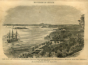 Trincomalee Harbour from a photograph by Lieut. R.W. Stewart.<br />from Souvenirs of Ceylon.