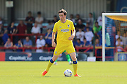 AFC Wimbledon defender Sean Kelly midfielder (30) during the Pre-Season Friendly match between AFC Wimbledon and Reading at the Cherry Red Records Stadium, Kingston, England on 23 July 2016. Photo by Stuart Butcher.