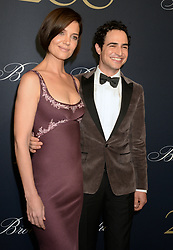 Katie Holmes and Zac Posen attending Brooks Brothers Bicentennial Celebration At Jazz At Lincoln Center, New York City, NY, USA, on April 25, 2018. Photo by Dennis Van Tine/ABACAPRESS.COM