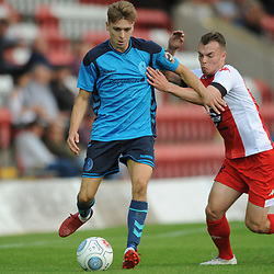 TELFORD COPYRIGHT MIKE SHERIDAN 7/8/2018 - Henry Cowans of AFC Telford during the National League North fixture between Kidderminster Harriers FC vs AFC Telford United.
