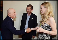 ,Ronald O.Perelman, Nat Rothschild and Guest  attend the National Youth Orchestra of The United States of America Reception at the <br /> The Royal Albert Hall hosted by Ronald O.Perelman, London, United Kingdom,<br /> Sunday, 21st July 2013<br /> Picture by Andrew Parsons / i-Images