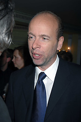 ERIC FELLNER attending the 27th Awards of the London Film Critics' Circle 2007 in aid of the NSPCC held at The Dorchester, Park Lane, London on 8th February 2007.<br />