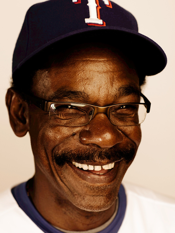 Ron Washington, Texas Rangers Manager. Photographed in Surprise, Arizona on Tuesday, February 24 2009. Photograph ©2009 Darren Carroll