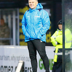 Dover's manager Andy Hessenthaler during the National League match between Dover Athletic FC and AFC Flyde at Crabble Stadium, Kent on 08 December 2018. Photo by Matt Bristow.