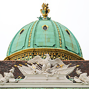 Domed rooftop in Vienna, Austria