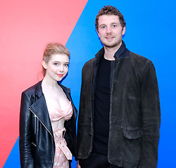 Edinburgh International Film Festival 2019<br /> <br /> Gwen (UK Premiere)<br /> <br /> Pictured: Eleanor Worthington-Cox and Director William McGregor<br /> <br /> Alex Todd | Edinburgh Elite media