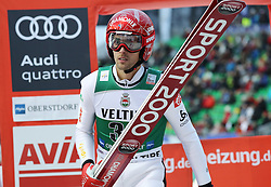 03.02.2017, Heini Klopfer Skiflugschanze, Oberstdorf, GER, FIS Weltcup Ski Sprung, Oberstdorf, Skifliegen, im Bild Vincent Descombes Sevoie // Vincent Descombes Sevoie during mens FIS Ski Flying World Cup at the Heini Klopfer Skiflugschanze in Oberstdorf, Germany on 2017/02/03. EXPA Pictures © 2017, PhotoCredit: EXPA/ Sammy Minkoff<br /> <br /> *****ATTENTION - OUT of GER*****