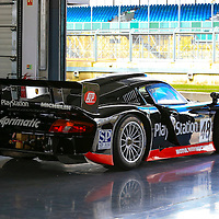 #48 Porsche GT1 at the Silverstone Classic Media Day on 27 April 2016