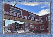 Monterey, California souvenir magnets, Cannery Row