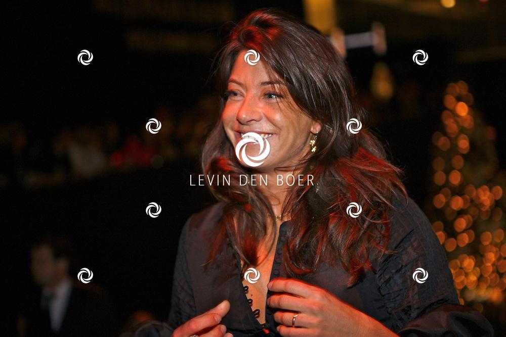 Met op de foto Amanda Beekman de vrouw van Martijn Krabbe. FOTO LEVIN DEN BOER - PERSFOTO.NU