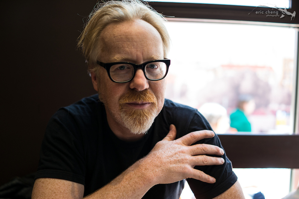 Adam Savage at Tacolicious in SF