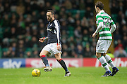 Dundee's Tom Hateley and Celtic's Erik Sviatchenko - Celtic v Dundee in the Ladbrokes Scottish Premiership at Celtic Park, Glasgow. Photo: David Young<br /> <br />  - © David Young - www.davidyoungphoto.co.uk - email: davidyoungphoto@gmail.com