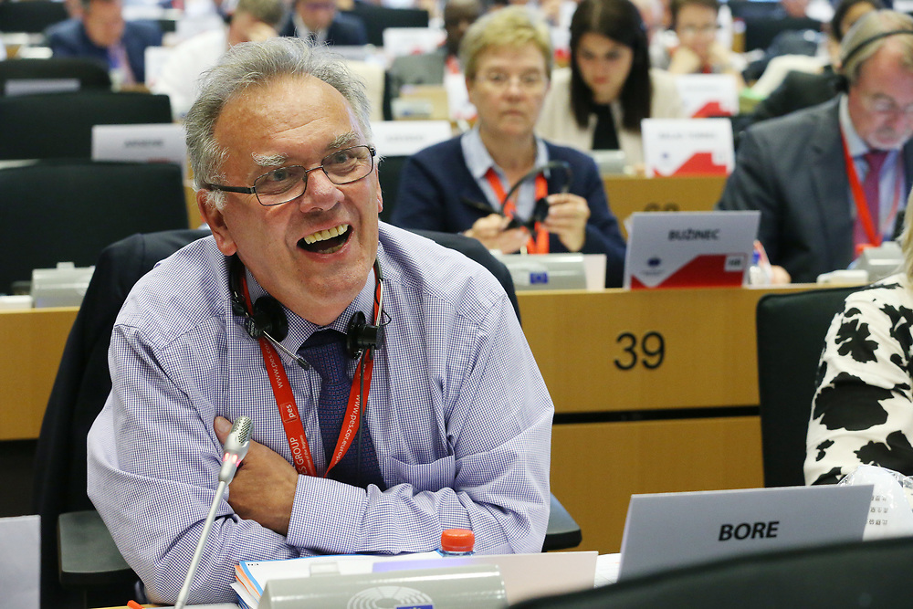 11 May 2017, 123rd Plenary Session of the European Committee of the Regions <br /> Belgium - Brussels - May 2017 <br /> <br /> BORE Albert, Member of Birmingham City Council, United Kingdom<br /> <br /> &copy; European Union / Patrick Mascart