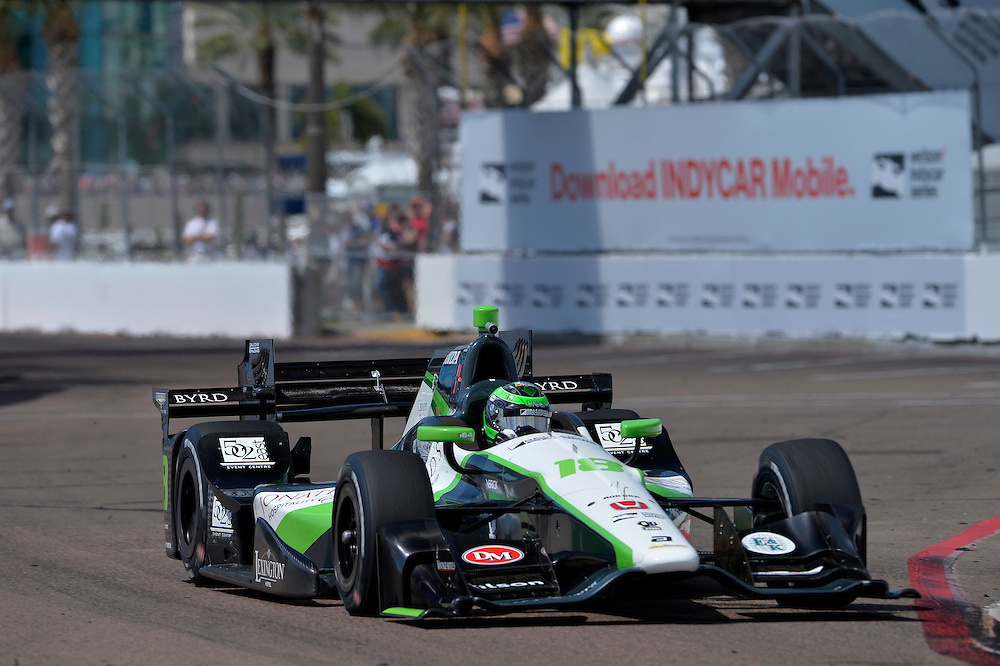 11-13 March, 2016, St Petersburg, Florida USA<br /> 18 Conor Daly<br /> &copy;2016 Scott R LePage <br /> LAT Photo USA