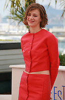 Actress Céline Sallette at the photo call for the film Geronimo, at the 67th Cannes Film Festival, Tuesday 20th May 2014, Cannes, France.