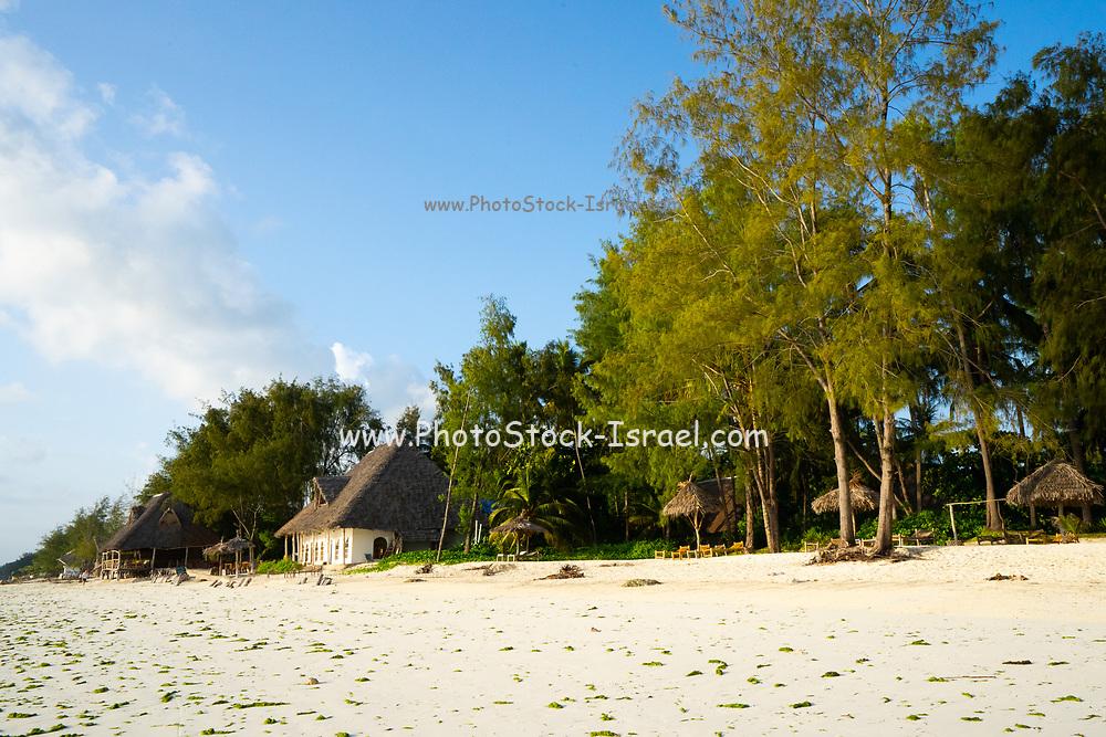 Resort village on the East Coast of Zanzibar