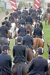 Prizegiving groepsdressuur<br /> Nationaal Kampioenschap LRV - Weelde 2009<br /> © Hippo Foto - Leanjo de Koster