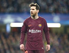 Chelsea FC v FC Barcelona 20 Feb 2018