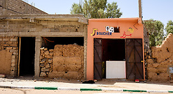 Butchers shop front in Mhamid, Morocco<br /> <br /> (c) Andrew Wilson | Edinburgh Elite media