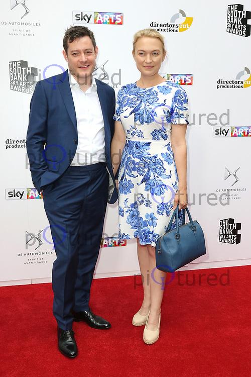 Sophia Myles, South Bank Sky Arts Awards, The Savoy, London UK, 09 July 2017, Photo by Richard Goldschmidt