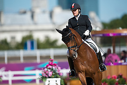 Elstone Eleonore (CAN) - Zareno<br /> Team Test - Grade IV - Dressage <br /> London 2012 Paralympic Games<br /> © Hippo Foto - Jon Stroud