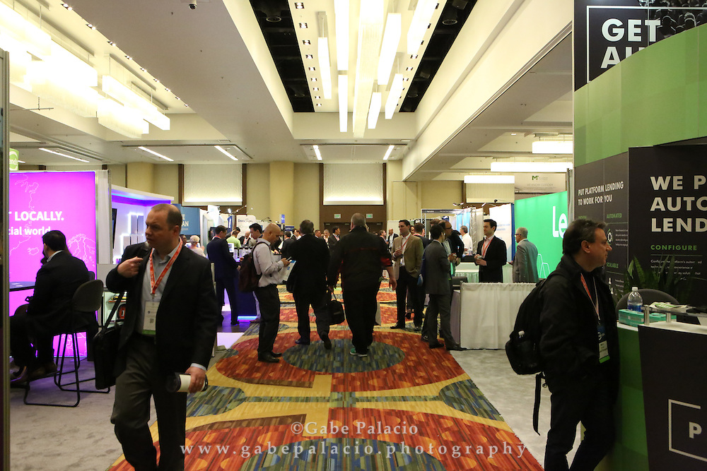 LendIt USA 2016 conference in San Francisco, California, USA on April 12, 2016. (photo by Evans Vestal Ward)