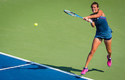 Julia Goerges of Germany in action during the second-round match at the 2018 US Open Grand Slam tennis tournament, at Billie Jean King National Tennis Center in Flushing Meadow, New York, USA, August 29th 2018, Photo Rob Prange / SpainProSportsImages / DPPI / ProSportsImages / DPPI