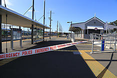 Auckland-One dead, one injured after shooting. Papakura Railway Station