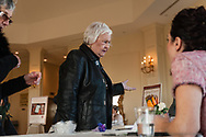 20180405, Thursday, April 5, 2018, Quincy, MA, USA;  Annual Lovely Ladies Spring Social dinner to benefit My Brother's Keeper of Easton MA held at Granite Links Golf Club in Quincy MA on Thursday evening April 5, 2018. The annual fundraiser is an all-female gathering save for My Brother's Keeper co-founder Jim Orcutt along with My Brother's Keeper president Erich Miller and Mission Advancement Director Vin Shea who joined the festivities.  <br /> <br /> ( 2018 © lightchaser photography )