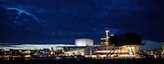 Bjørvika by night, Oslo, Norway