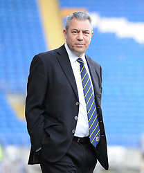 Cardiff City chairman Mehmet Dalman - Photo mandatory by-line: Alex James/JMP - Mobile: 07966 386802 - 24/01/2015 - SPORT - Football - Cardiff - Cardiff City Stadium - Cardiff City v Reading - FA Cup Fourth Round