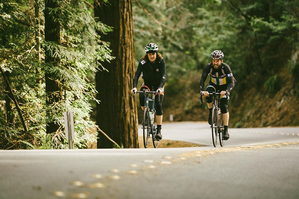 "Pescadero, CA. ""Ride In The Redwoods"""