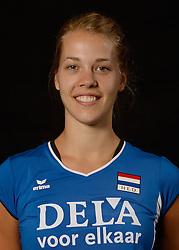 25-06-2013 VOLLEYBAL: NEDERLANDS VROUWEN VOLLEYBALTEAM: ARNHEM<br /> Selectie Oranje vrouwen seizoen 2013-2014 / Femke Stoltenborg<br /> &copy;2013-FotoHoogendoorn.nl