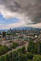 Vancouver Skyline, Overcast
