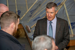 """Pictured: Willie Rennie<br /><br />Scottish Liberal Democrat Leader Willie Rennie visited the Future Energy Skills centre at Fife College in Glenrothes today to argue for """"astronomical investment"""" in home insulation to tackle the climate emergency and end fuel poverty by 2025 . <br /><br /><br /><br />Ger Harley 