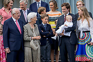 Waterloo, 29-06-2017 <br /> <br /> <br /> 80th birthday celebration of Queen Paola of Belgium with members of the Royal Family at Queen Elisabeth Music Chapel of Waterloo.<br /> <br /> ONLY PUBLISHING IN FRANCE<br /> <br /> <br /> COPYRIGHT: ROYALPORTRAITS EUROPE/ BERNARD RUEBSAMEN