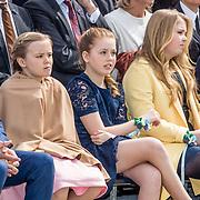 NLD/Tilburg/20170427- Koningsdag 2017, Prins Maurits, Prinses, Ariane, Prinses Alexia, Prinses Amalia