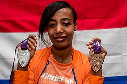 04-03-2018 GBR: World Indoor Championships Athletics day 4, Birmingham<br /> Sifan Hassan NED, brons 1500 Metres, zilver 3000 Metres