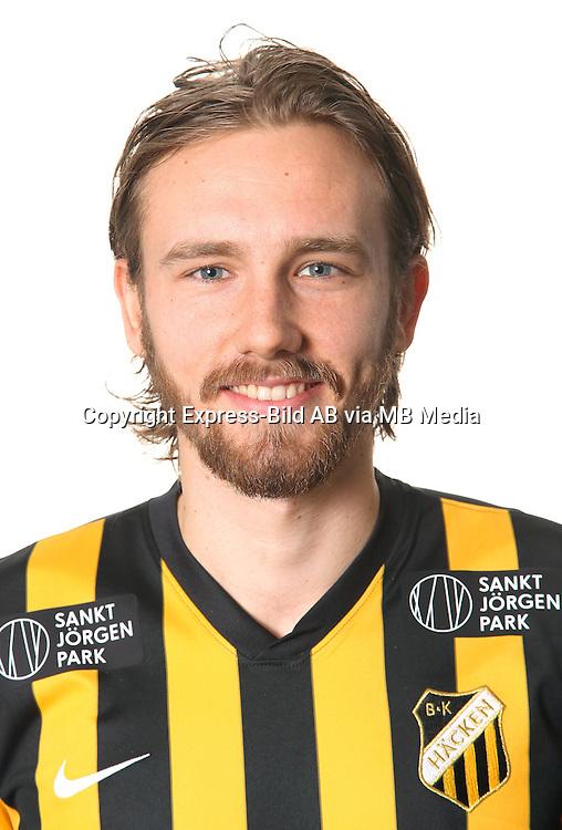 Simon Sandberg<br /> Halvfigur<br /> @Leverans<br /> Allsvenskan 2016<br /> Fotboll