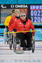 Jim Gault, Angie Malone, Wheelchair Curling Finals at the 2014 Sochi Winter Paralympic Games, Russia