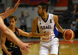 August 6, 2017 - St. Petersburg, Russia - Russia, St. Petersburg, on August 5, 2017. International basketball tournament ''V. Kondrashin and A. Belov's Cup''. Match Russia - Israel. In the picture: the player of the national team of Israel Bar Timor in basketball match of the Cup of V. Kondrashin and A. Belov, between Russian national teams and Israel. (Credit Image: © Andrey Pronin via ZUMA Wire)