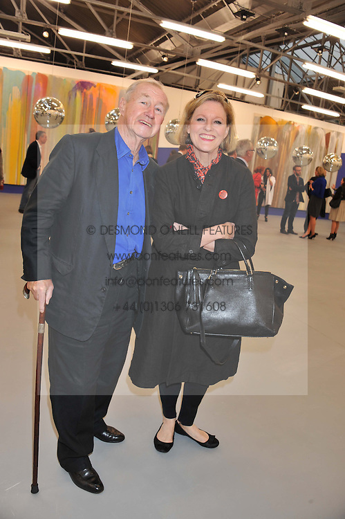 SIR TERENCE & LADY CONRAN at the opening of the Dairy Art Centre, 7a Wakefield Street, Bloomsbury, London WC1 on 24th April 2013.