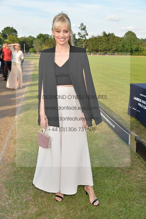 KIMBERLY WYATT at the Laureus Polo held at Ham Polo Club, Ham, Richmond, Surrey on 18th June 2015.