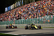 August 29-Sept, 2019: Belgium Grand Prix. Nico Hulkenberg (GER), Renault Sport Formula One Team, R.S.19, Alexander ALBON, ASTON MARTIN RED BULL RACING