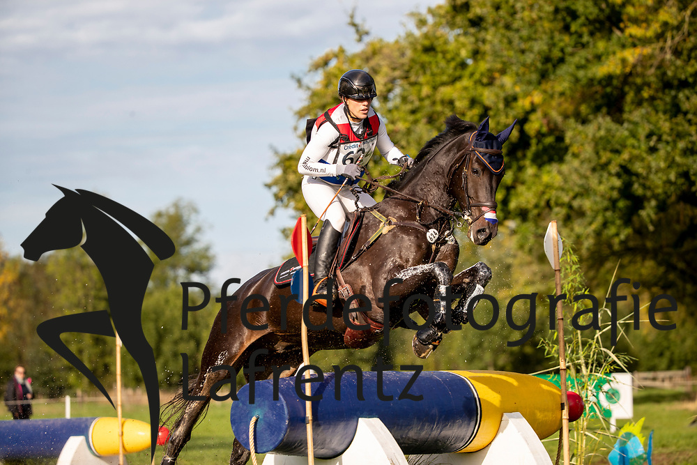 Blom Merel, NED, Crossborder Radar Love<br /> Le Lion d'Angers - Eventing World Breeding Championship 2019<br /> Teilprüfung Cross-Country 6 jährige<br /> 19. Oktober 2019<br /> © www.sportfotos-lafrentz.de/Dirk Caremans