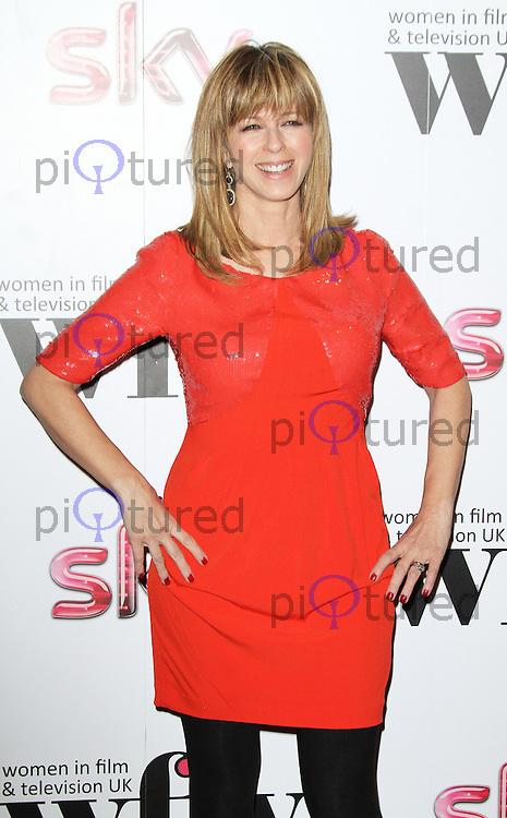 LONDON - DECEMBER 07: Kate Garraway attended the Women in Film and TV Awards at the London Hilton Hotel, Park Lane, London, UK. December 07, 2012. (Photo by Richard Goldschmidt)