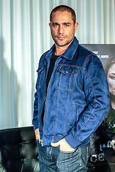 "LOS ANGELES, CA - JANUARY 10: Argentinian born actor Michel Brown attends a press conference to promote the upcoming TV Series ""La Querida del Centauro"" at the SLS Hotel on January 10, 2016 in Los Angeles, California. La querida del Centauro, is an upcoming Spanish-language TV Series produced by Teleset and Sony Pictures Television for Telemundo. It will be starring Ludwika Paleta, Michel Brown and Humberto Zurita. Byline, credit, TV usage, web usage or linkback must read SILVEXPHOTO.COM. Failure to byline correctly will incur double the agreed fee. Tel: +1 714 504 6870."