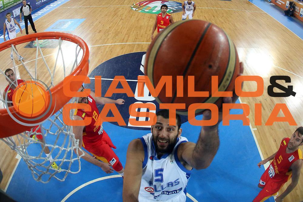 DESCRIZIONE : Lubiana Ljubliana Slovenia Eurobasket Men 2013 Second Round Grecia Spagna Greece Spain<br /> GIOCATORE : Yoannis Bouroussis<br /> CATEGORIA : tiro shot special<br /> SQUADRA : Grecia Greece<br /> EVENTO : Eurobasket Men 2013<br /> GARA : Grecia Spagna Greece Spain<br /> DATA : 12/09/2013 <br /> SPORT : Pallacanestro <br /> AUTORE : Agenzia Ciamillo-Castoria/ElioCastoria<br /> Galleria : Eurobasket Men 2013<br /> Fotonotizia : Lubiana Ljubliana Slovenia Eurobasket Men 2013 Second Round Grecia Spagna Greece Spain<br /> Predefinita :